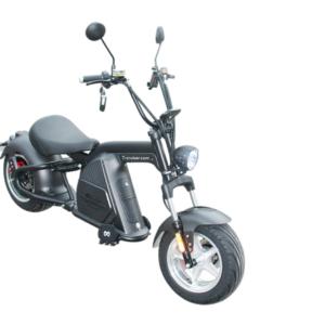 Scooter 100% électrique ARMY 2000 W homologué Noir
