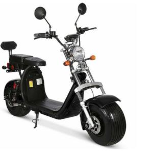 Scooter 100% électrique CITY COCO P2 TIGERS DOUBLE BATTERIE Homologué XX Noir