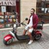 Scooter 100% électrique CITY COCO P2 TIGERS DOUBLE BATTERIE Homologué XX Rouge