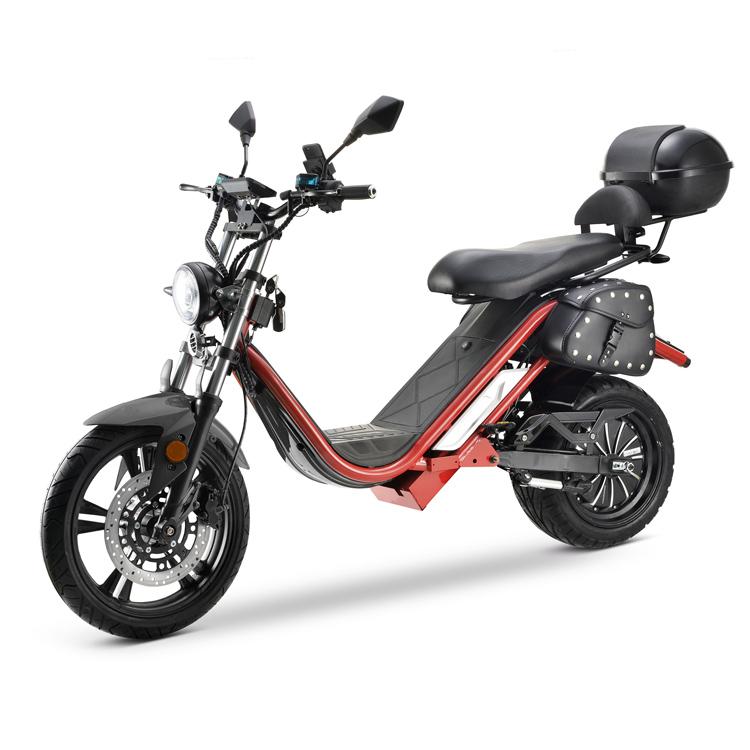 Scooter 100% électrique SHARK PREMIUM 4000 Homologué Rouge