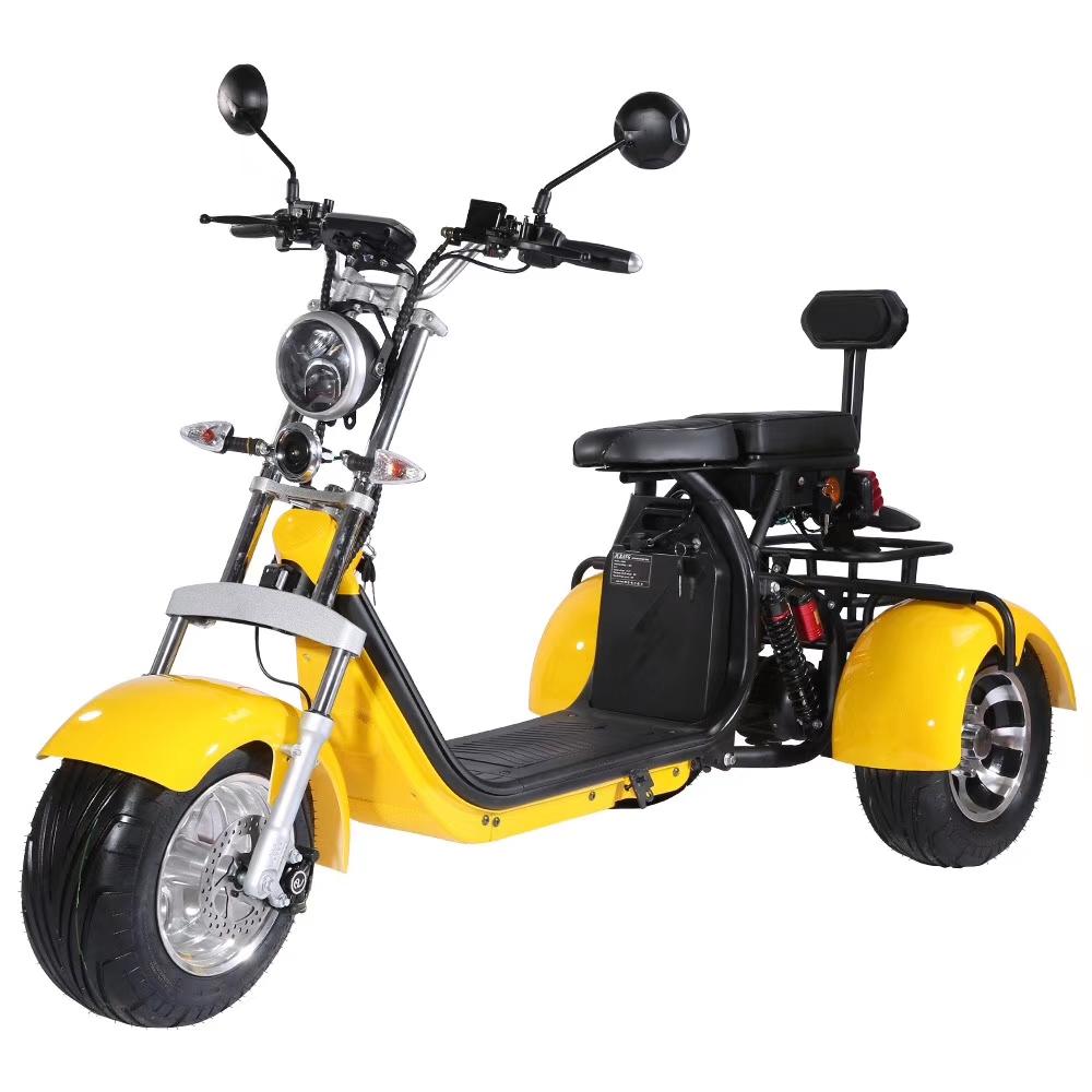 Scooter 100% électrique CLASSIC PREMIUM 3 ROUES Homologué