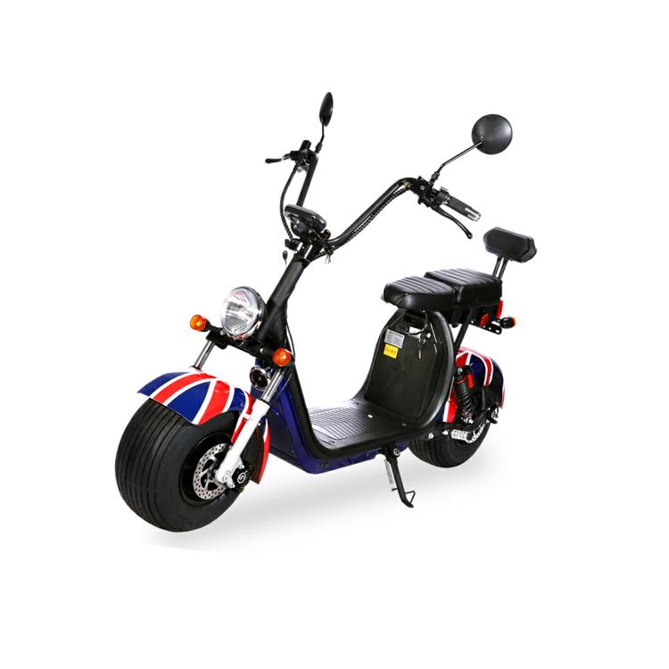 Scooter 100% électrique Super British 2020 Homologué