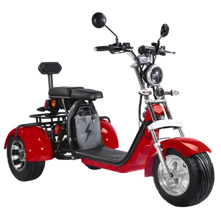 Scooter 100% électrique CLASSIC THIRD 3 ROUES Homologué