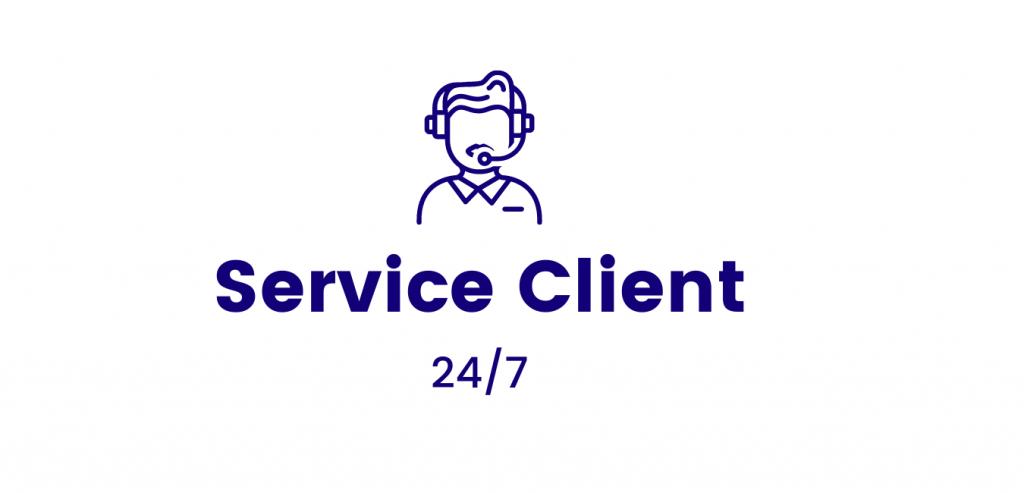 Service Client Rolling shop