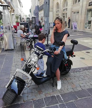 scooter électrique city coco Star P2 Homologué